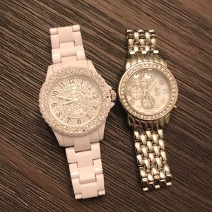 Set of two CC watches